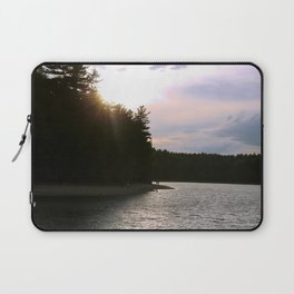 Sunset at Concord's Walden Pond 2 Laptop Sleeve