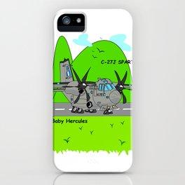 "C-27J ""Spartan"" Aircraft iPhone Case"