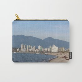 View of Vancouver from Kits Beach Carry-All Pouch