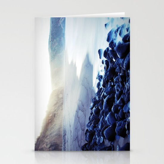 When the ocean meets the island Stationery Cards