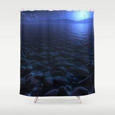 Moon Worship Shower Curtain