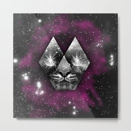 cosmic tiger Metal Print