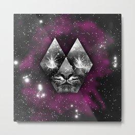 cosmic tiger Metal Print
