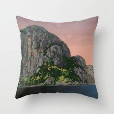 Saguenay Fjord Provincial Park Throw Pillow