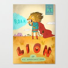 Lion Canvas Print
