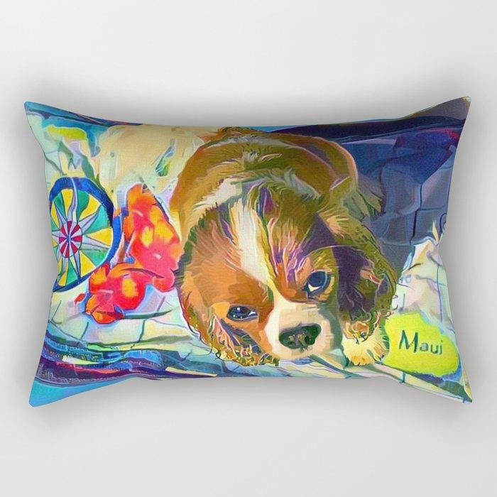 Take Me To Maui! Rectangular Pillow
