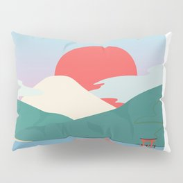 Mt Fuji from Hakone National Park Pillow Sham