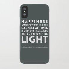 Light - Quotable Series Slim Case iPhone X