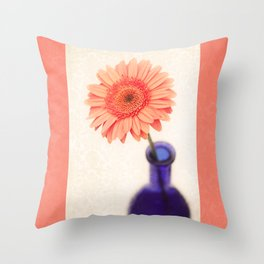 Solitary Stunner Throw Pillow