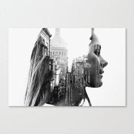 Lina Portrait Canvas Print