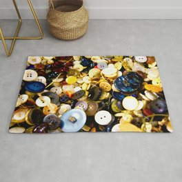 Pushing Buttons Rug