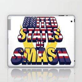 United States of Smash Laptop & iPad Skin