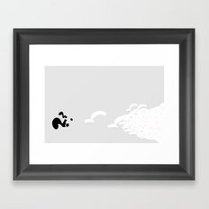 They're after our nuts! Framed Art Print