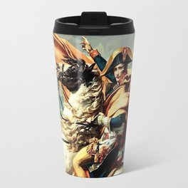 France's Napoleon Crossing the Alps Travel Mug