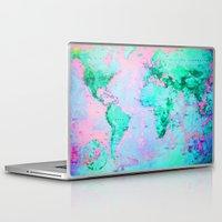 wanderlust Laptop & iPad Skins featuring Wanderlust by ALLY COXON