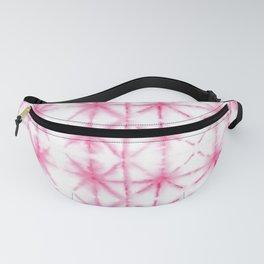 Shibori Tie Dye Pattern in Pink | Summer | Island Paradise| Tropical Fanny Pack