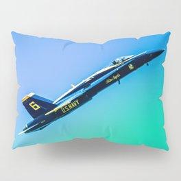 Blue Angles Rise Pillow Sham