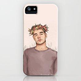 Flower crown Liam iPhone Case