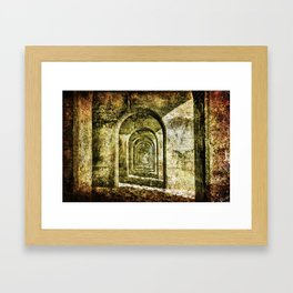Ancient Arches Framed Art Print