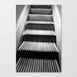 escalator of Macy's NYC Canvas Print