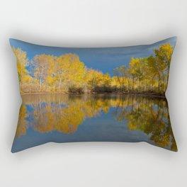 Golden light Rectangular Pillow