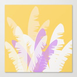 The Pale Banana Tree Canvas Print