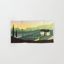 Tuscany Fairytale Hand & Bath Towel