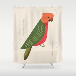 Australian King Parrot, Bird of Australia Shower Curtain