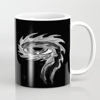 tool Mugs featuring Tool eyes by SnowVampire