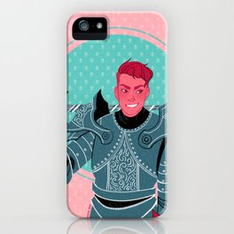 Lieutenant of the Bull's Chargers iPhone Case