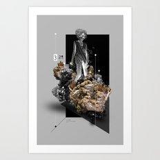 The Secret Life of Minerals Art Print