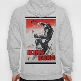 Vintage 1933 Version of RKO's King Kong Movie Cinema Poster Wall Art Hoody