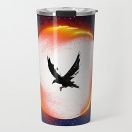The Head is too Wise The Heart is All Fire | Raven Cycle Design Travel Mug