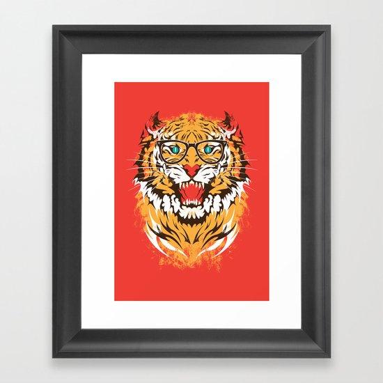 tigeek Framed Art Print