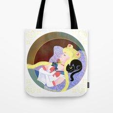 Sleeping Sailor Tote Bag