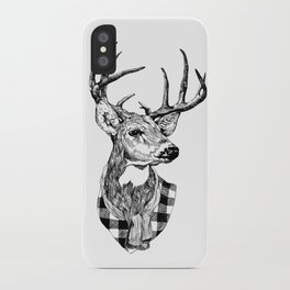 Mr Deer iPhone Case