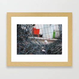 I'm Waiting On The Other Side Framed Art Print