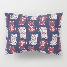 Lucky Cat / Maneki Neko (招き猫) Pillow Sham