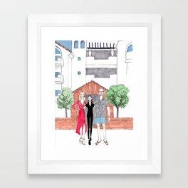 For Shelton Framed Art Print