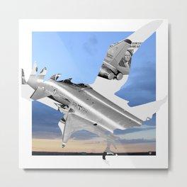 Bomber Bird · Stahlgewitter 4c Metal Print