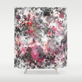 Frosty pink Shower Curtain