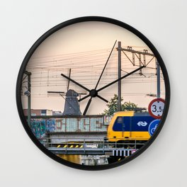 Sunrise Commute Wall Clock
