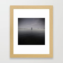 Minute Intermission Framed Art Print
