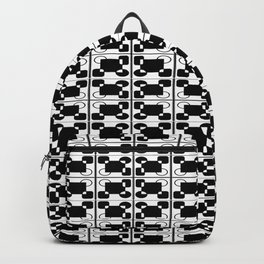 BW-pattern 3 Backpack