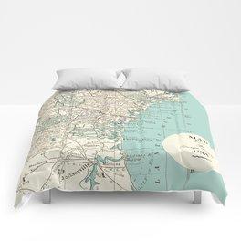 Th Georgia Coastline Comforters
