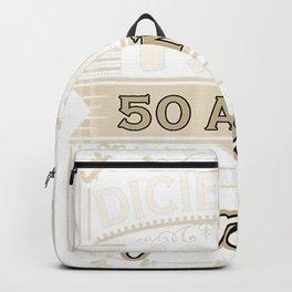 Camiseta Diciembre 1970 50 Años Siendo Genial Cumpleaños 50 Backpack