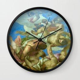Fallen Men Artwork  Wall Clock
