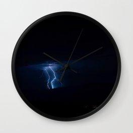 Lightning Strikes - III Wall Clock