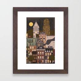 Cincinnati Amour Framed Art Print