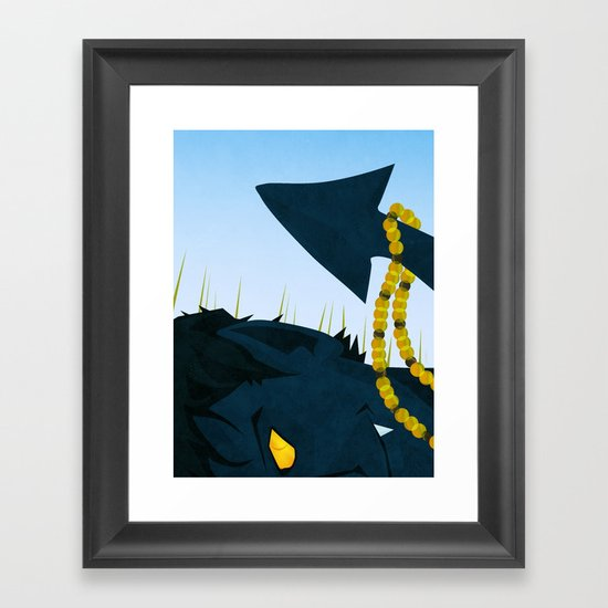 Wagner's Tail Framed Art Print